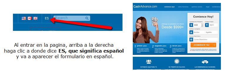 Formulario en espanol